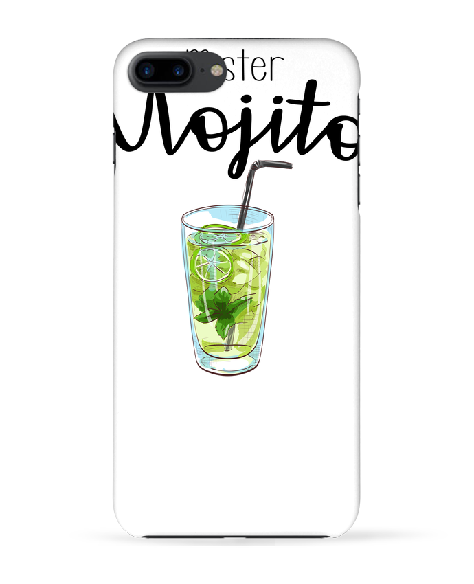 Coque 3D Iphone 7+ Mister mojito par FRENCHUP-MAYO