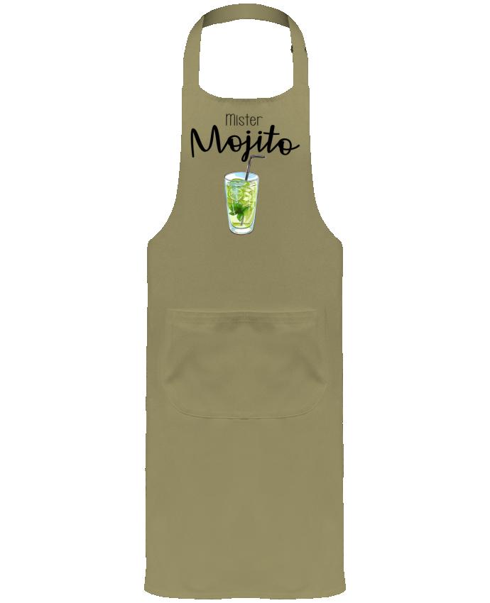 Tablier de Jardinier ou Sommelier avec Poche Mister mojito par FRENCHUP-MAYO