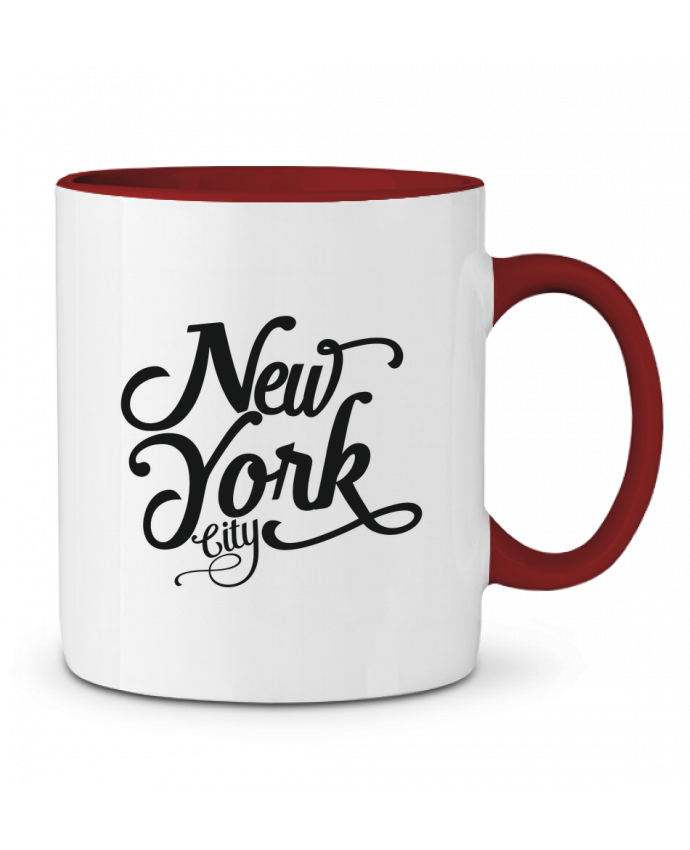 Mug en Céramique Bicolore New York City justsayin