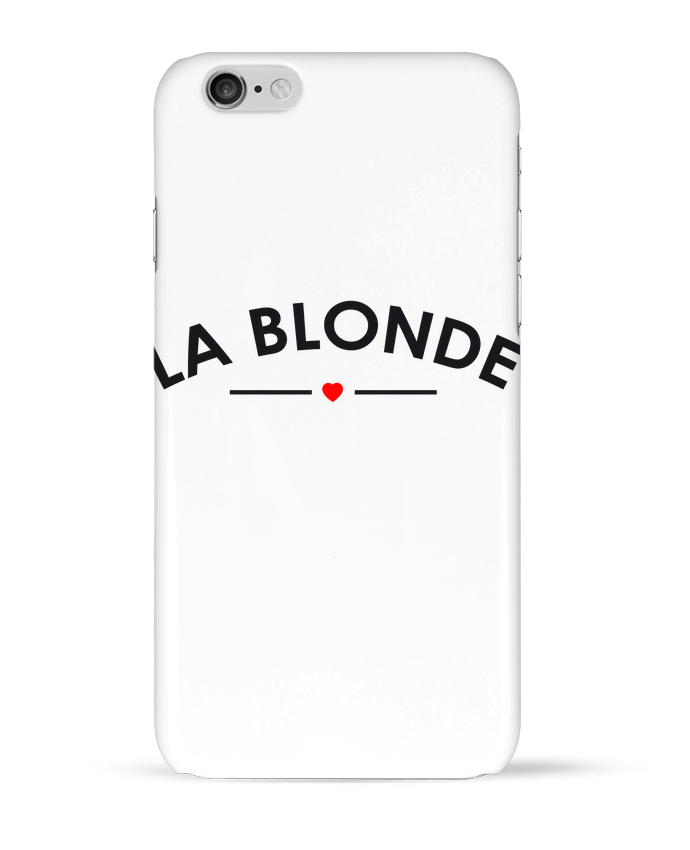 Coque 3D Iphone 6 La Blonde par FRENCHUP-MAYO