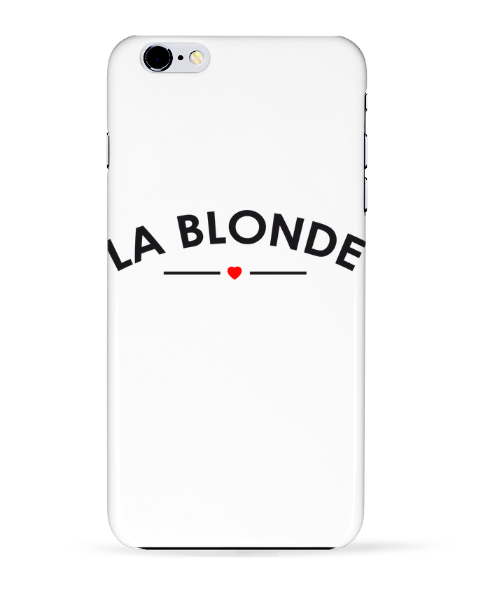 Coque 3D Iphone 6+ La Blonde de FRENCHUP-MAYO