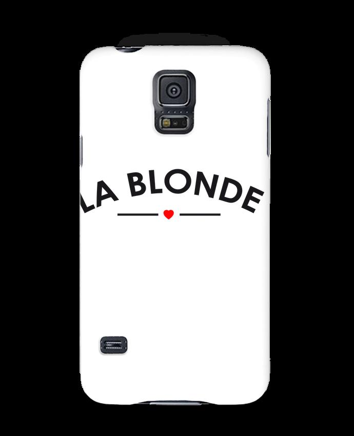 Coque 3D Samsung Galaxy S5 La Blonde par FRENCHUP-MAYO
