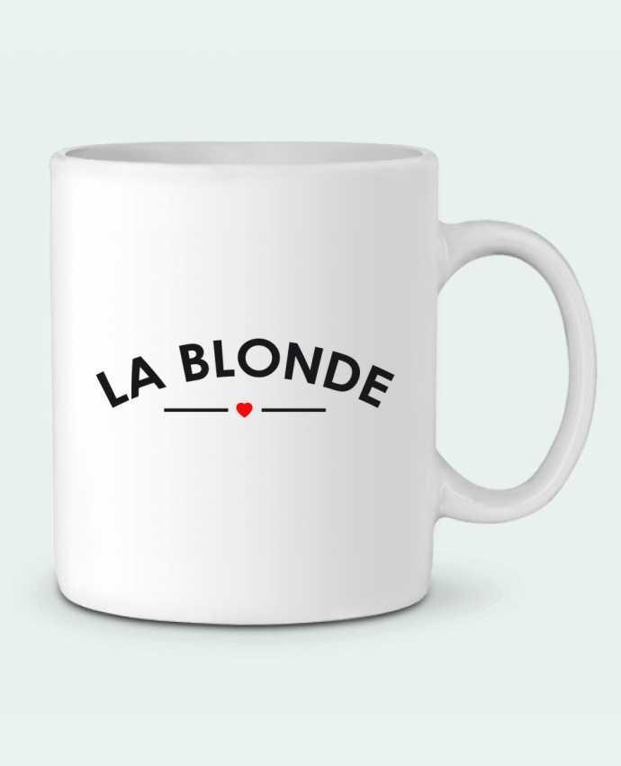 Mug en Céramique La Blonde par FRENCHUP-MAYO