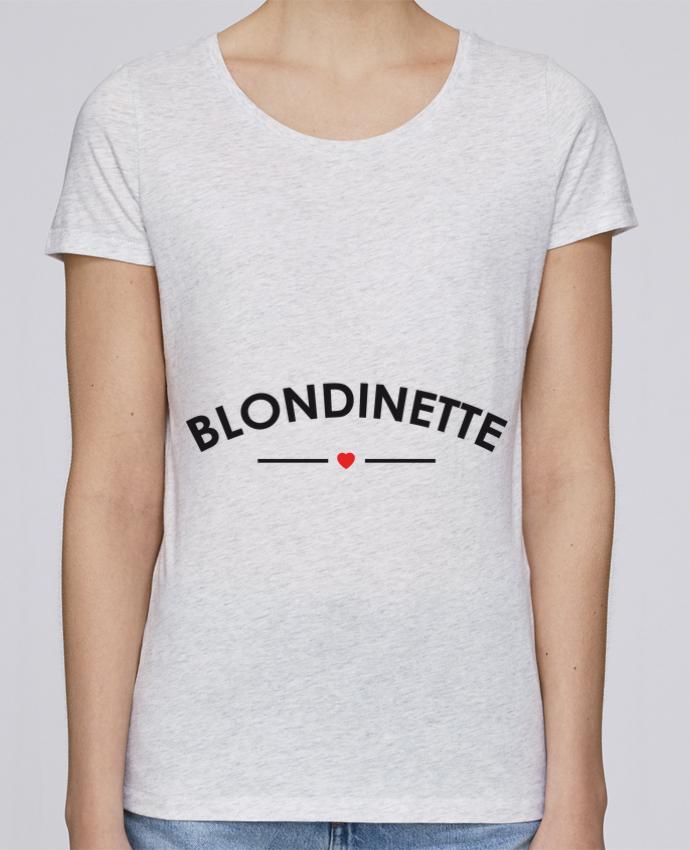 T-shirt Femme Stella Loves Blondinette par FRENCHUP-MAYO