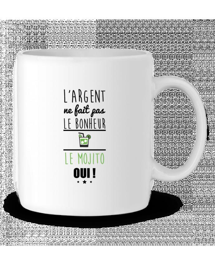 Mug en Céramique L'argent ne fait pas le bonheur le mojito oui ! par Benichan