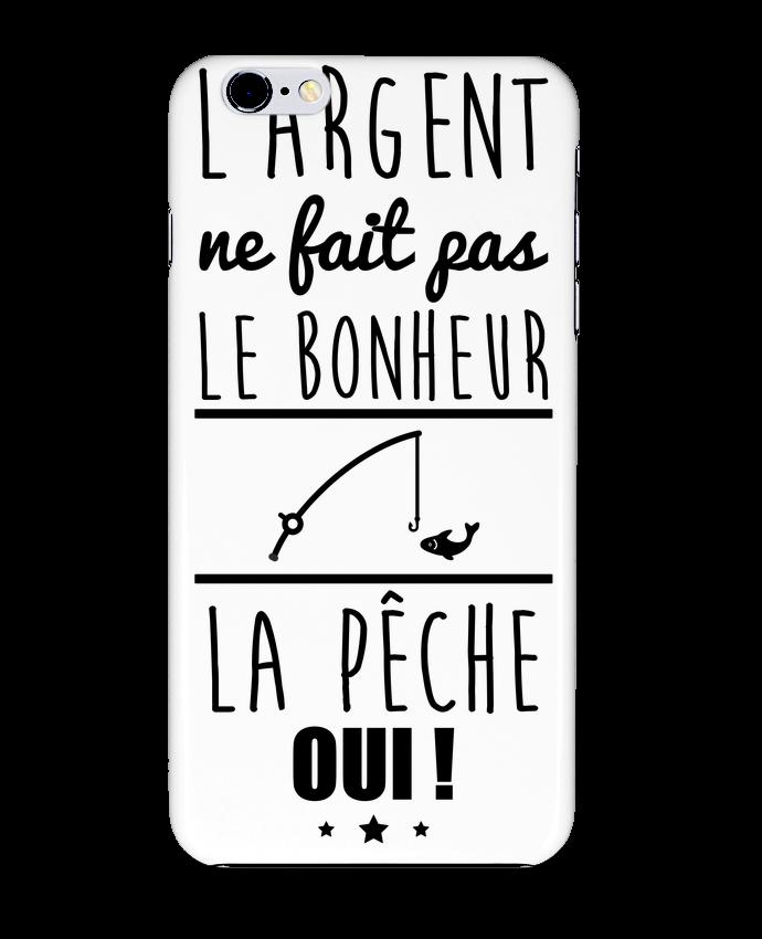 Coque 3D Iphone 6+ L'argent ne fait pas le bonheur la pêche oui ! de Benichan