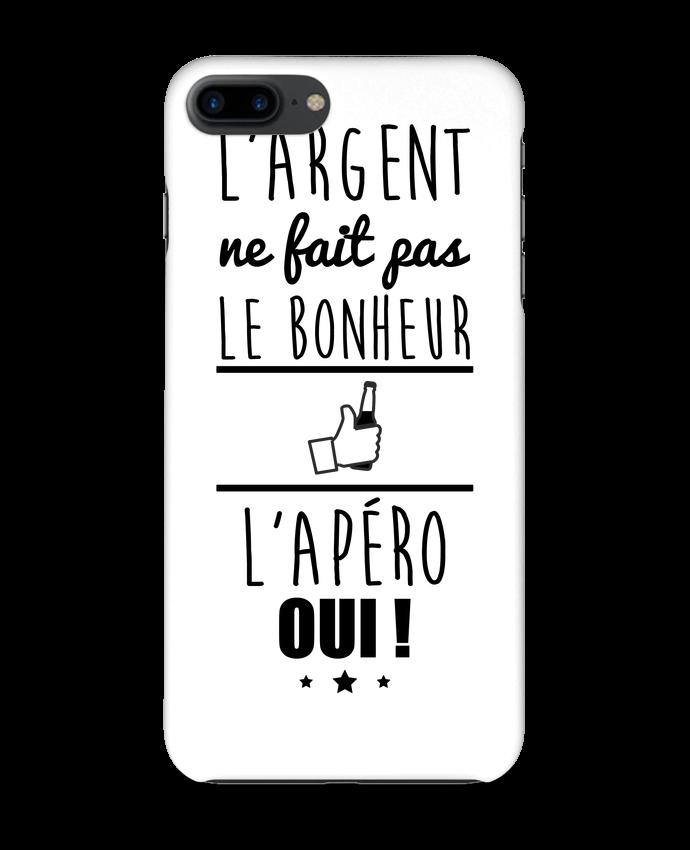 Coque 3D Iphone 7+ L'argent ne fait pas le bonheur l'apéro oui ! par Benichan