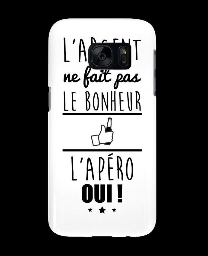 Coque 3D Samsung Galaxy S7 L'argent ne fait pas le bonheur l'apéro oui ! par Benichan