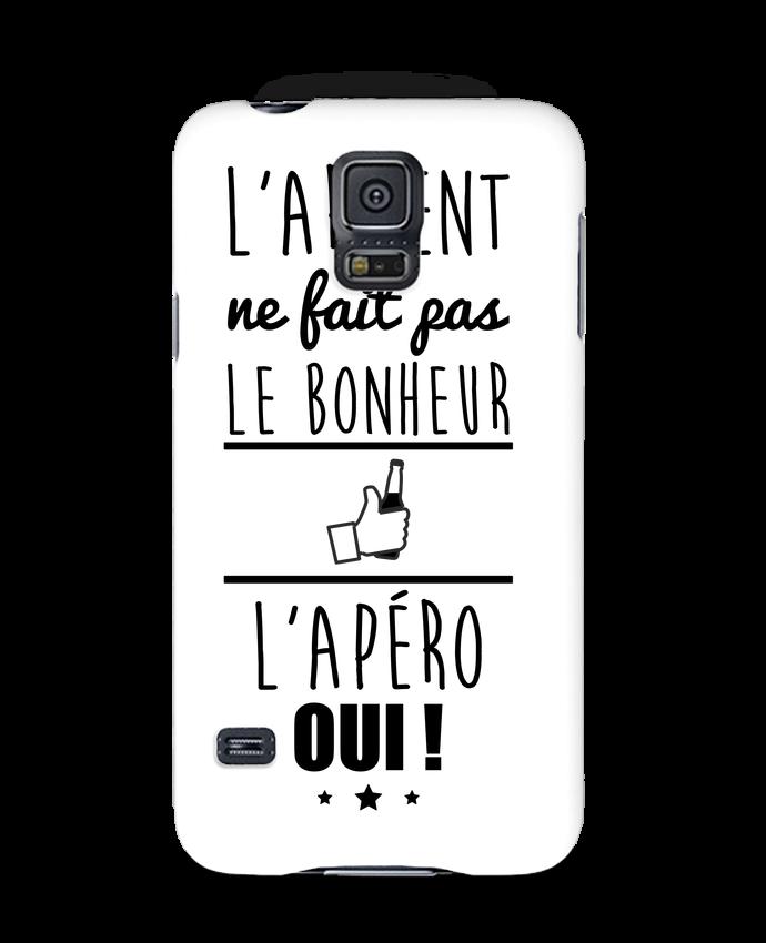 Coque 3D Samsung Galaxy S5 L'argent ne fait pas le bonheur l'apéro oui ! par Benichan