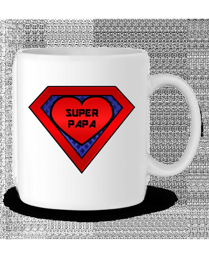Mug en Céramique Super papa par FRENCHUP-MAYO