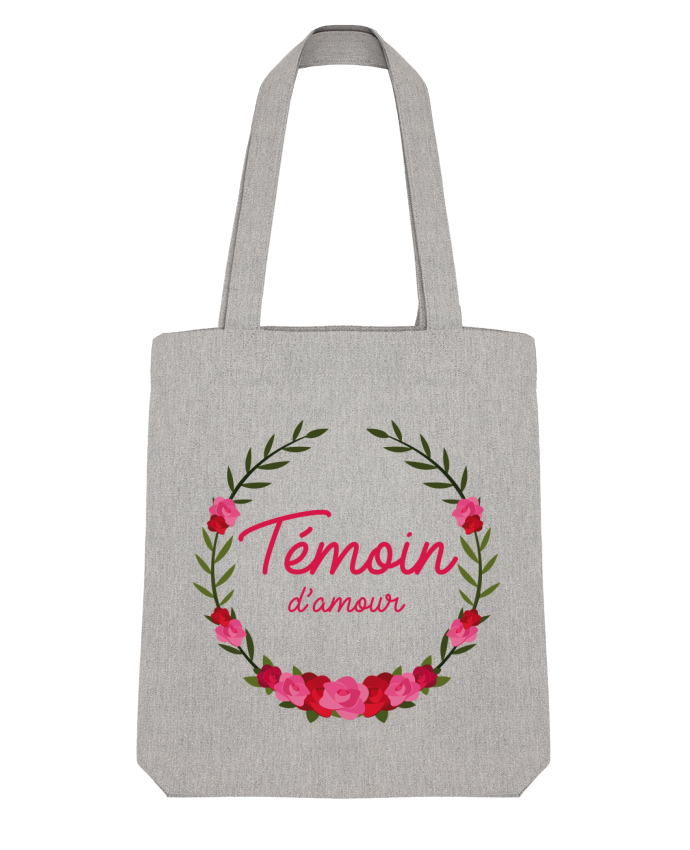 Tote Bag Stanley Stella Témoin d'amour par FRENCHUP-MAYO