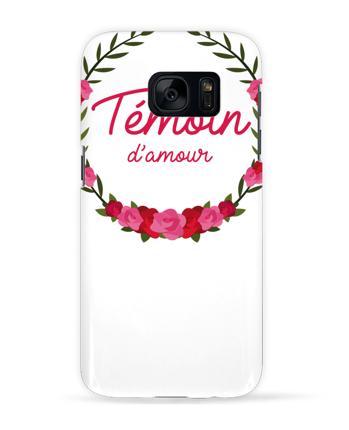 Coque 3D Samsung Galaxy S7 Témoin d'amour par FRENCHUP-MAYO