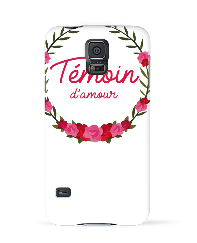 Coque 3D Samsung Galaxy S5 Témoin d'amour par FRENCHUP-MAYO