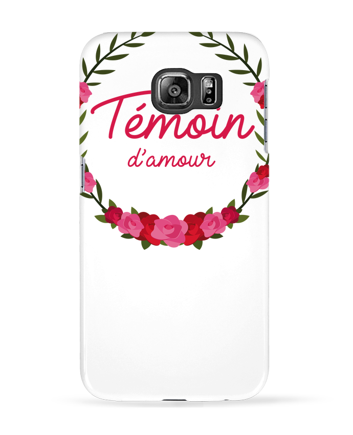 Coque 3D Samsung Galaxy S6 Témoin d'amour - FRENCHUP-MAYO