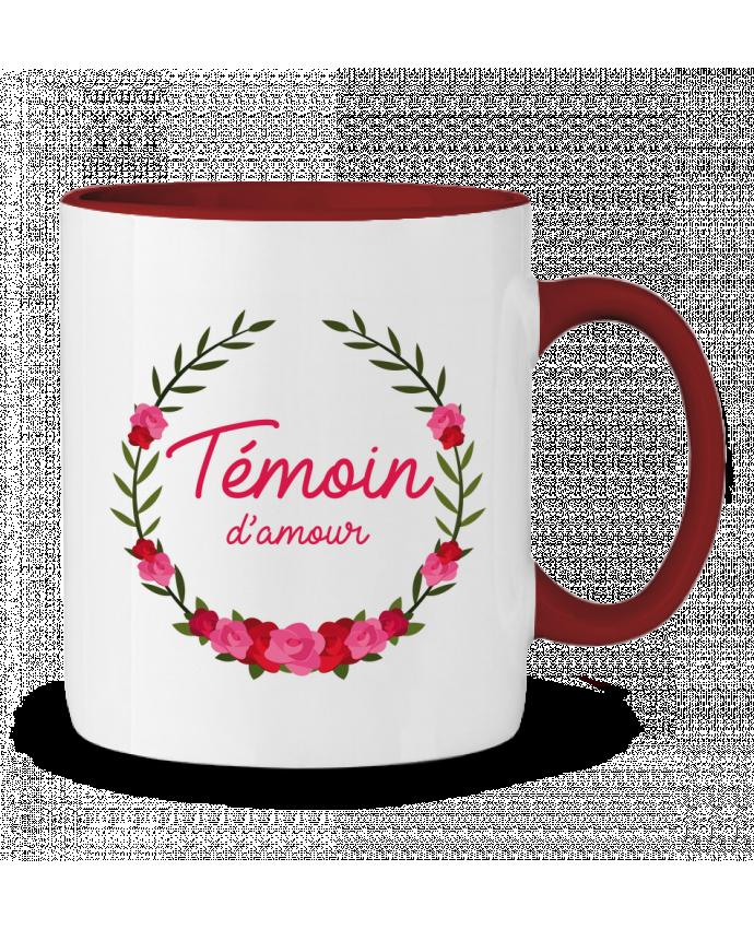 Mug en Céramique Bicolore Témoin d'amour FRENCHUP-MAYO