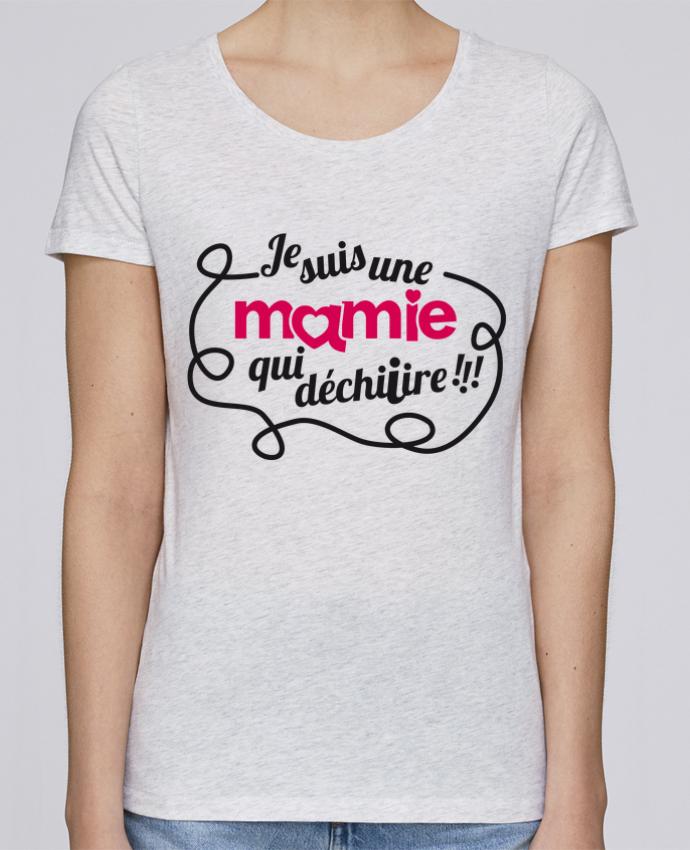 T-shirt Femme Stella Loves Je suis une mamie qui déchire par GraphiCK-Kids
