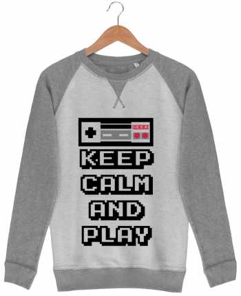 Sweat French Terry KEEP CALM AND PLAY par SG LXXXIII