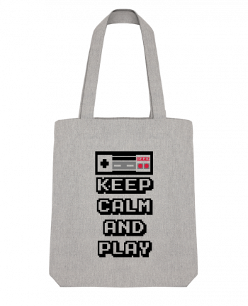 Tote Bag Stanley Stella KEEP CALM AND PLAY par SG LXXXIII