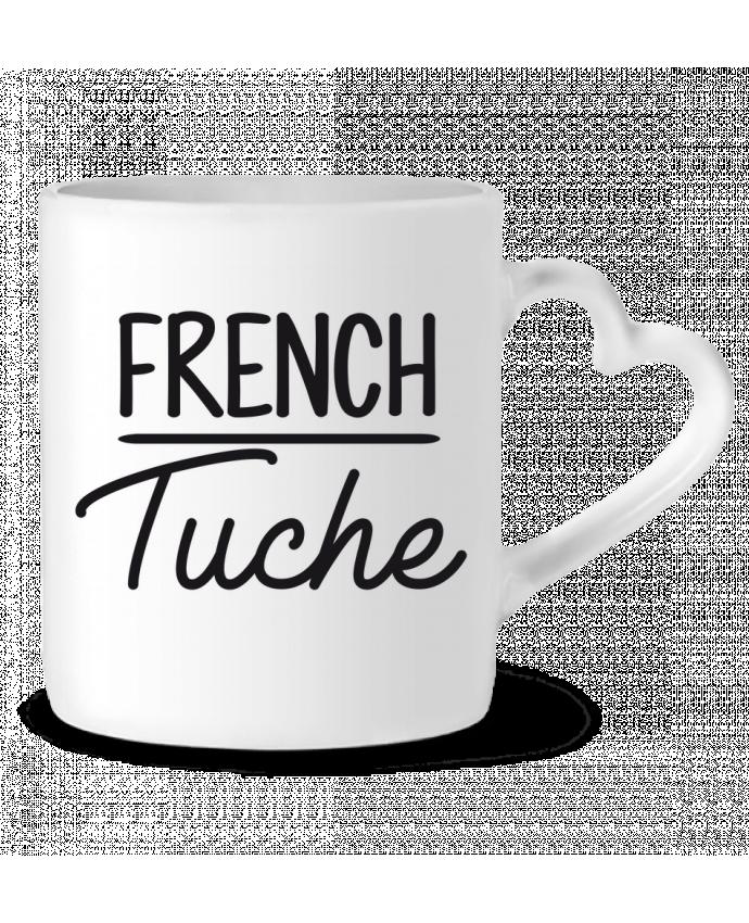 Mug Coeur French Tuche par FRENCHUP-MAYO