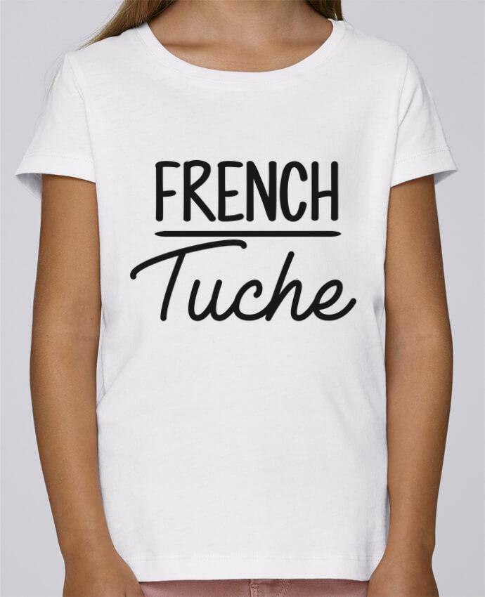 T-shirt Fille Mini Stella Draws French Tuche par FRENCHUP-MAYO