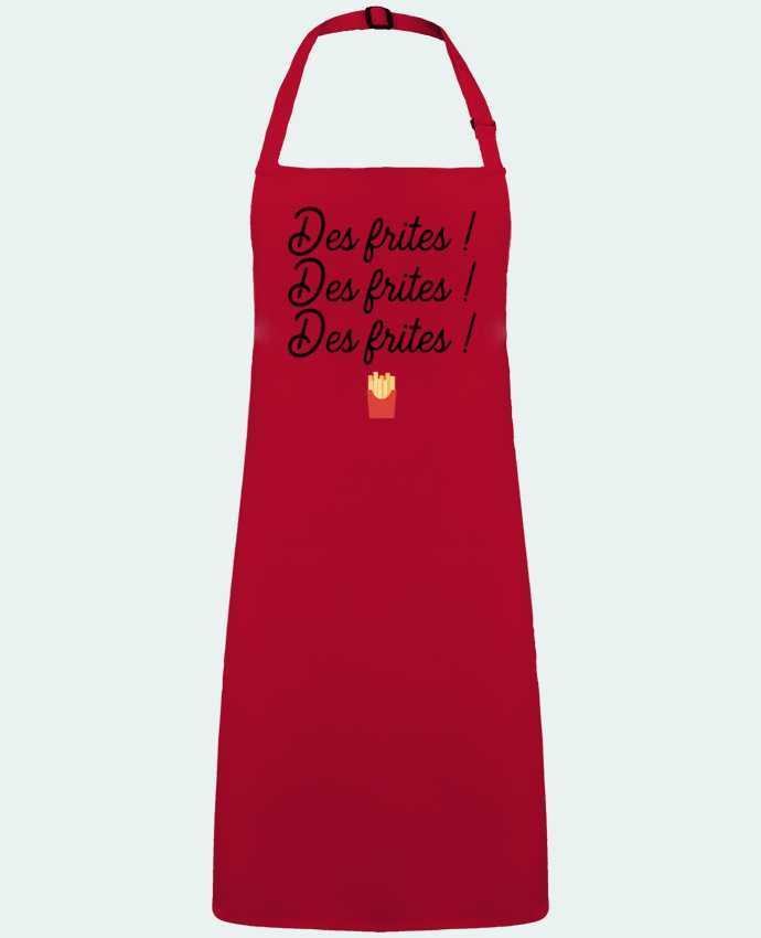 Tablier Sans Poche Des frites ! par  Original t-shirt