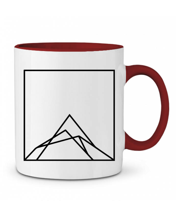 Mug en Céramique Bicolore Montain by Ruuud Ruuud