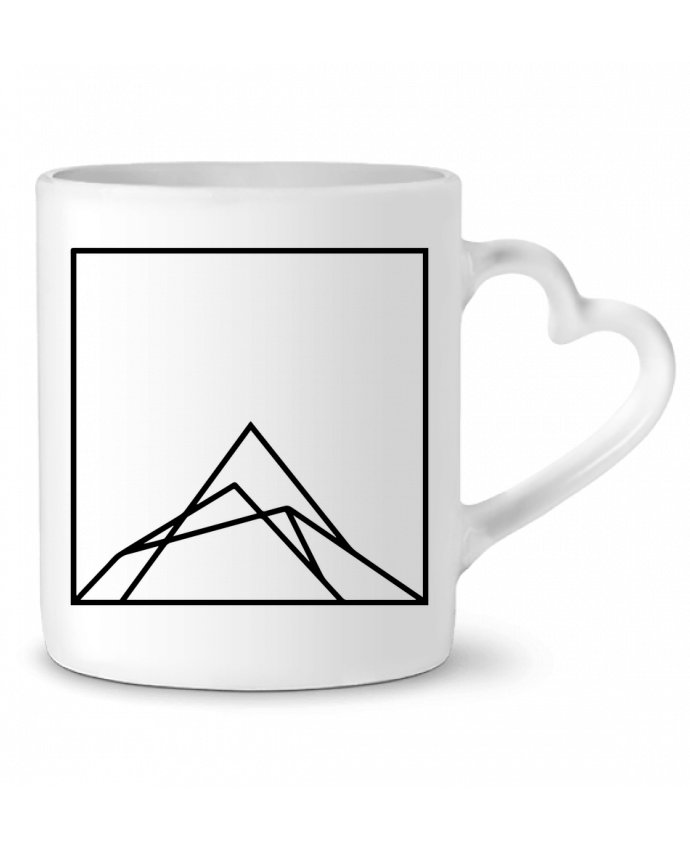 Mug Coeur Montain by Ruuud par Ruuud