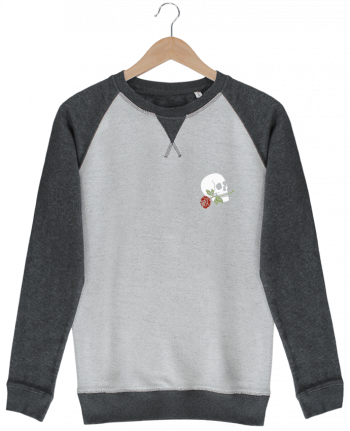 Sweat French Terry Skull flower par Ruuud