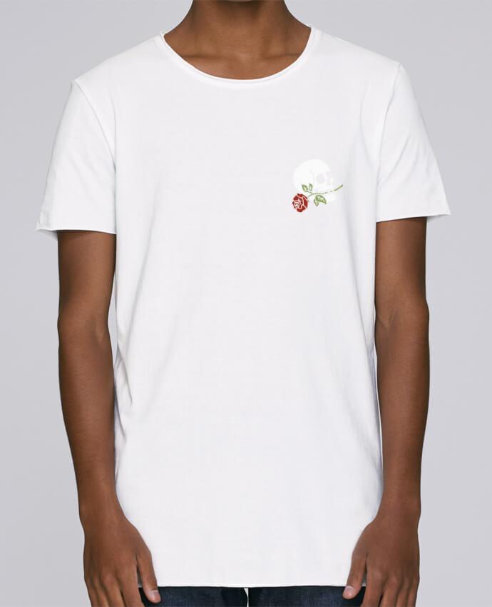 T-shirt Homme Oversized Stanley Skates Skull flower par Ruuud