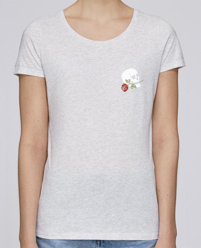 T-shirt Femme Stella Loves Skull flower par Ruuud
