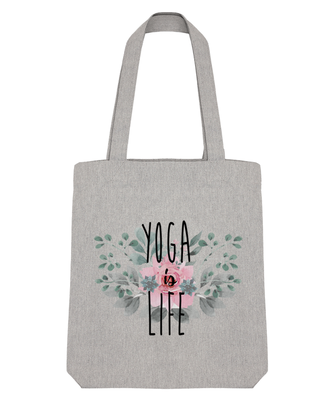 Tote Bag Stanley Stella Yoga is life par tunetoo