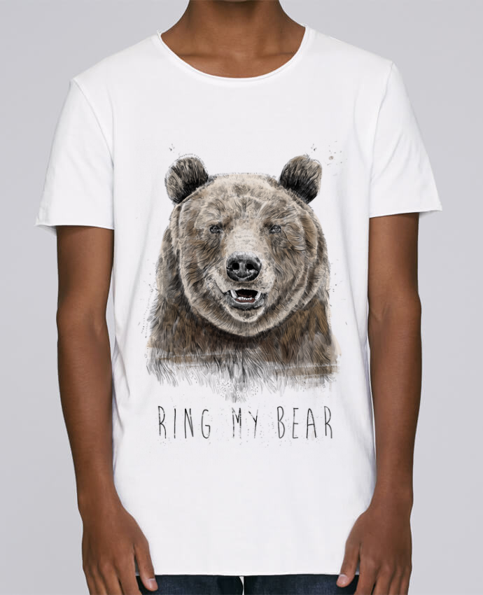 T-shirt Homme Oversized Stanley Skates Ring my bear par Balàzs Solti