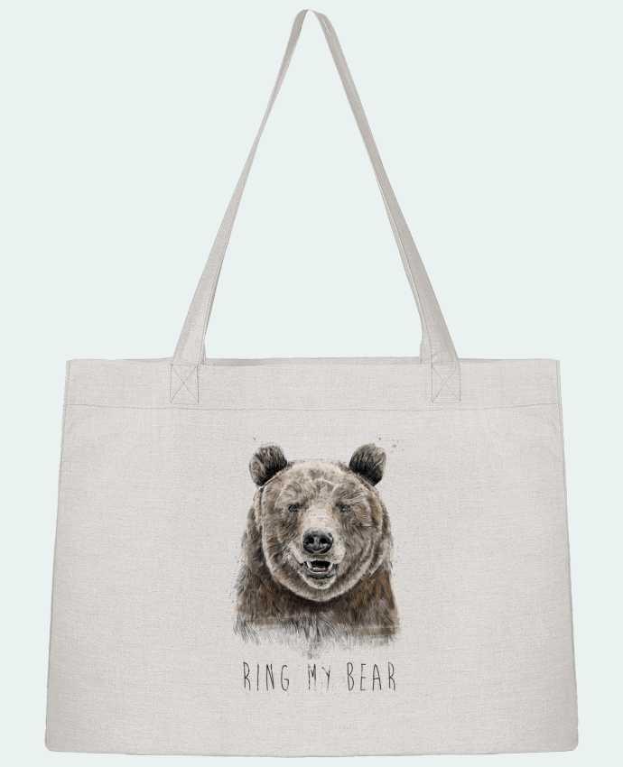 Sac Cabas Shopping Stanley Stella Ring my bear par Balàzs Solti