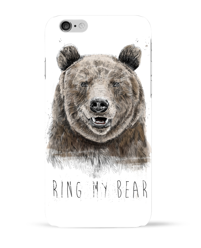 Coque 3D Iphone 6 Ring my bear par Balàzs Solti