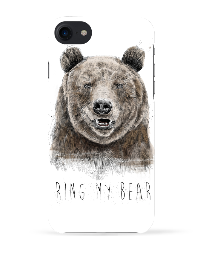Coque 3D Iphone 7 Ring my bear de Balàzs Solti