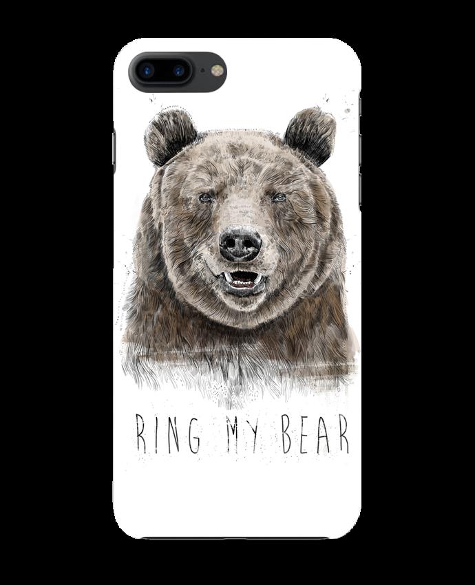 Coque 3D Iphone 7+ Ring my bear par Balàzs Solti
