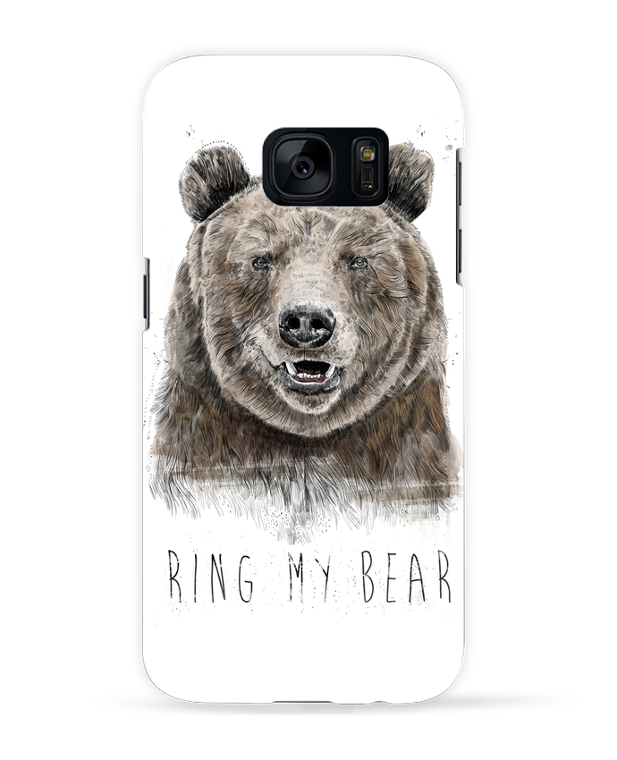 Coque 3D Samsung Galaxy S7 Ring my bear par Balàzs Solti
