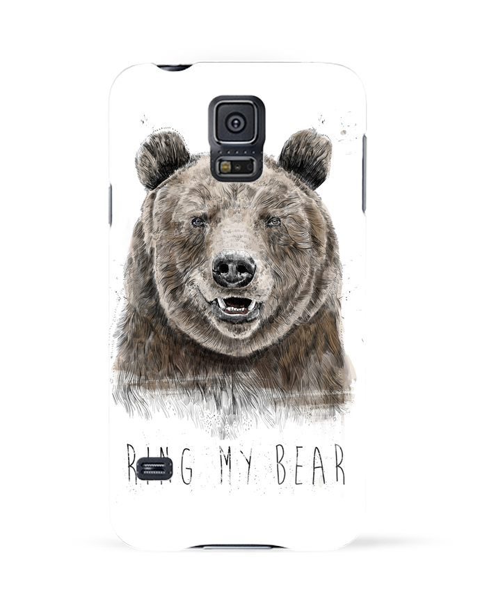 Coque 3D Samsung Galaxy S5 Ring my bear par Balàzs Solti