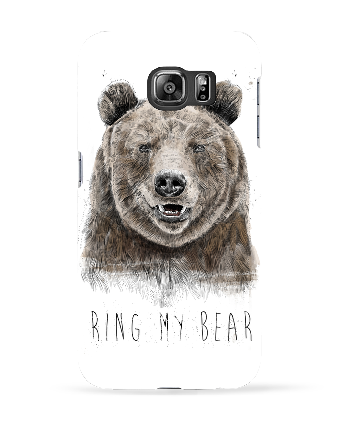 Coque 3D Samsung Galaxy S6 Ring my bear - Balàzs Solti