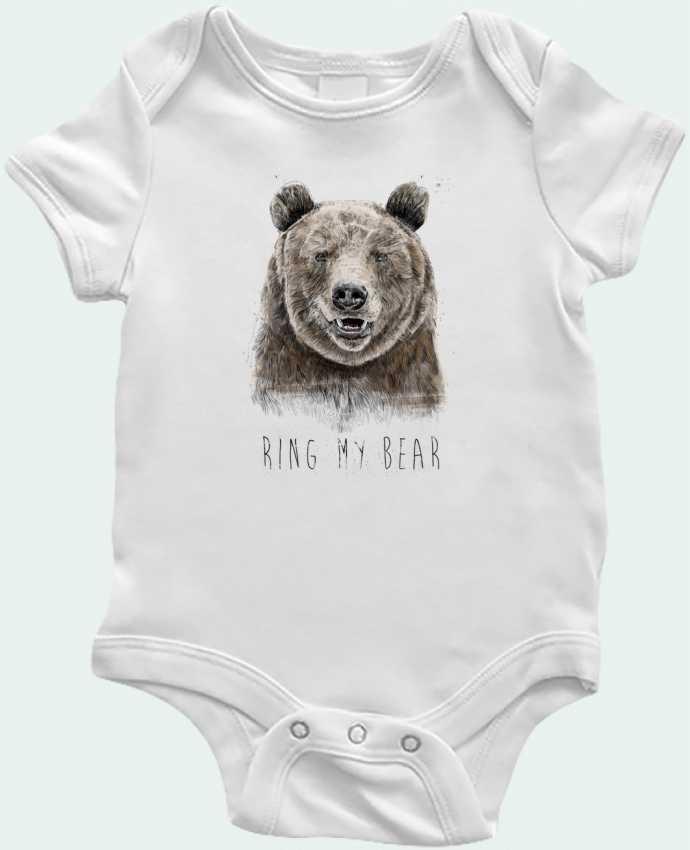 Body Bébé Ring my bear par Balàzs Solti