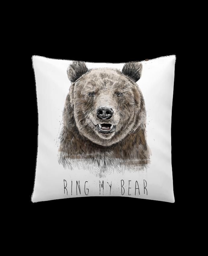 Coussin Synthétique Doux 41 x 41 cm Ring my bear par Balàzs Solti