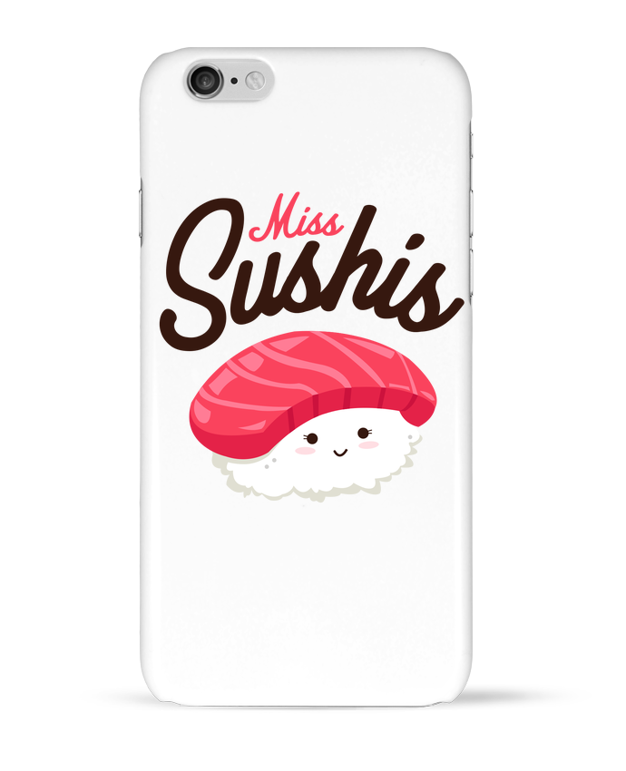 Coque 3D Iphone 6 Miss Sushis par Nana