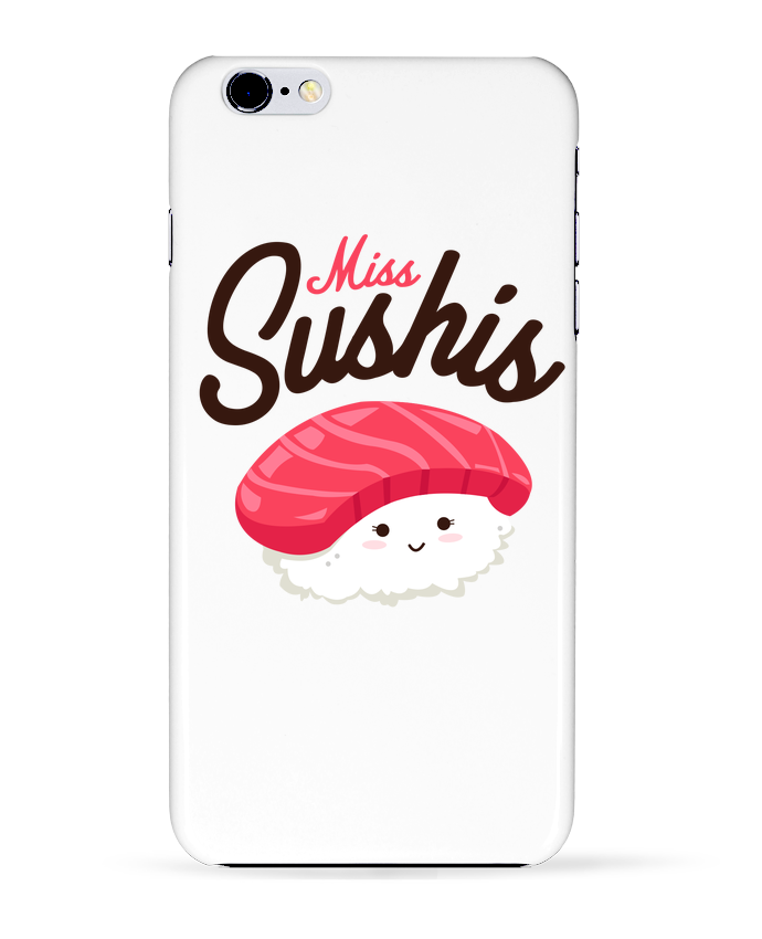 Coque 3D Iphone 6+ Miss Sushis de Nana