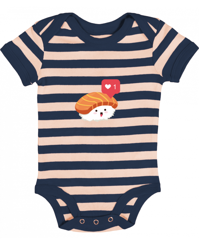 Body Bébé à Rayures Sushis like - Nana