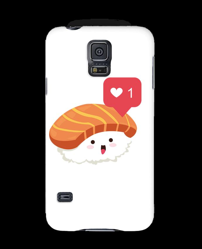 Coque 3D Samsung Galaxy S5 Sushis like par Nana