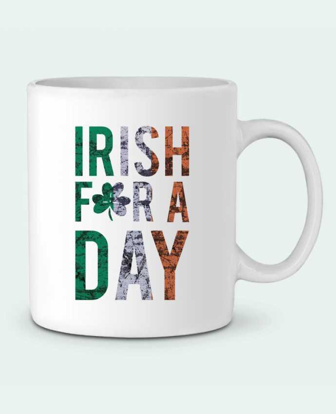 Mug en Céramique Irish for a day par tunetoo