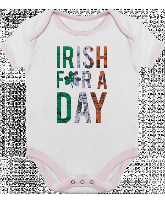 Body Bébé Contrasté Irish for a day par tunetoo