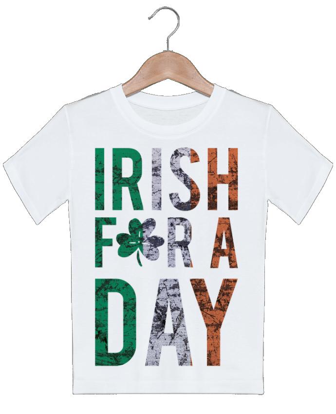T-shirt garçon motif Irish for a day tunetoo