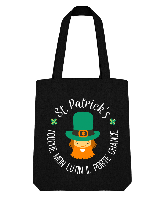 Tote Bag Stanley Stella Saint Patrick, Touche mon lutin il porte chance par tunetoo