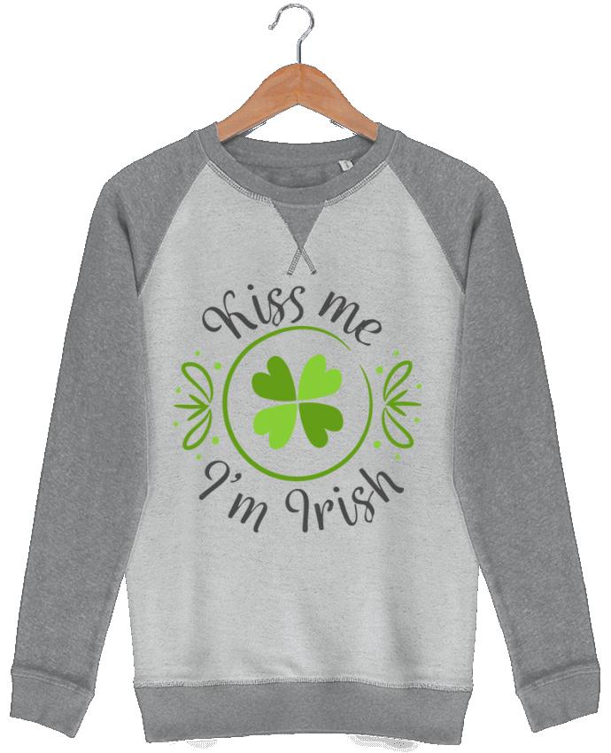 Sweat French Terry Kiss me I'm Irish par tunetoo